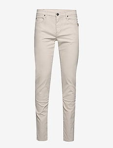 "Suede Touch - Burton NS 34"" - slim jeans - light camel"