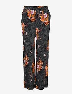 3310 - Sasha Tailored - spodnie szerokie - black