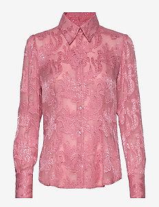 3165 - Lotte Puff - pitkähihaiset puserot - pink