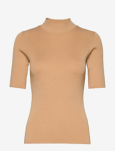 5181 - Della - strikkede toppe og t-shirts - light camel
