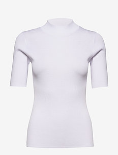 5181 - Della - strikkede toppe og t-shirts - optical white