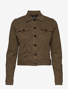 Suede Touch W - Carletta N - vestes en jean - khaki