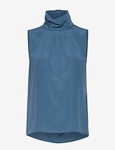 CDC Stretch - Prosa Top - blouses zonder mouwen - medium blue