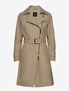 Techno Cotton W - Quita New - trenchcoats - light camel