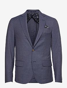 6263 - Star Easy Normal - blazers met enkele rij knopen - medium blue
