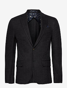 6286 - Star Easy Normal - blazers à boutonnage simple - charcoal