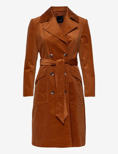 3394 - Adda - trenchcoats - orange