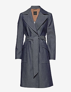 3395 - Adda - trenchcoats - medium blue