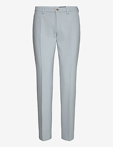 3596 - Dori A - straight leg trousers - light blue