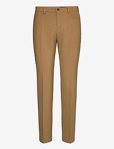 3596 - Dori A - pantalons droits - light camel