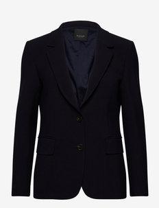 3596 - Ginette - tailored blazers - dark blue/navy