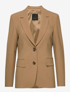 3596 - Ginette - tailored blazers - light camel