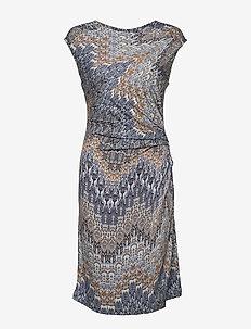 3392 J - Danja - robes portefeuille - blue
