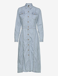 R/Denim - Mati - robes chemises - light blue