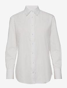 8704 - Nube - långärmade skjortor - optical white