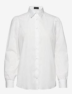8704 - Loreto - långärmade skjortor - optical white