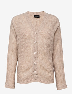 5194 - Silje Cardigan - cardigans - light beige