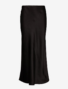 Double Silk - Lena - midi - black