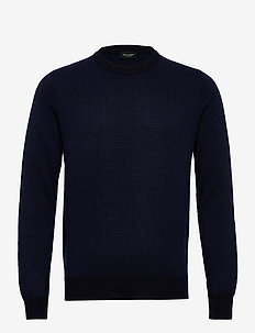 5470 - Iq - basic knitwear - medium blue