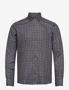 8648 - State N 2 Trim - business skjortor - grey
