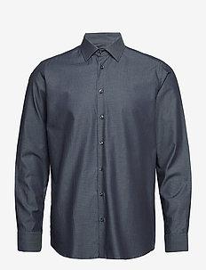 8650 - State N 2 - basic overhemden - medium blue