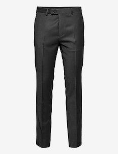 Cashmere Flannel - Craig Normal - formele broeken - black