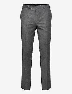 Cashmere Flannel - Craig Normal - formele broeken - grey