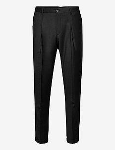Cashmere Flannel - Mark Normal - formele broeken - black
