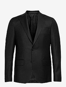 Cashmere Flannel - Star Napoli Norm - single breasted blazers - black