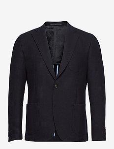 6274 - Jones Napoli 1/2 PP Normal - blazers met enkele rij knopen - medium blue