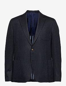 1695 - Jones Napoli 1/2 PP Normal - single breasted blazers - medium blue