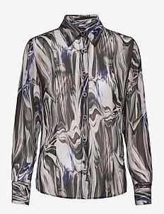 3389 - Lotte BC - overhemden met lange mouwen - blue