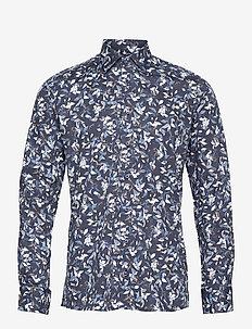 8703 - State N 2 - casual skjortor - medium blue