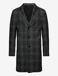 7423 - Retro Coat - wollen mantels - black
