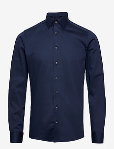 8589 - Iver 2 - businesskjorter - medium blue