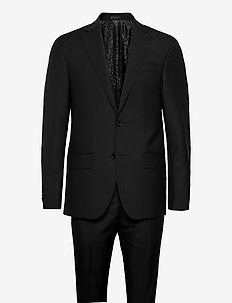 Mohair - Star Napoli-Craig Normal - kostuums met enkele rij knopen - black