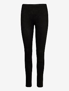 0736 - Shamar - broeken med skinny fit - black