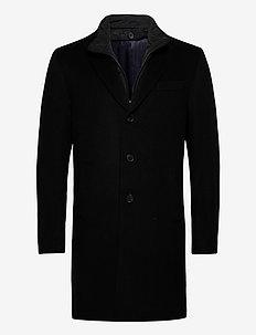 Cashmere Coat - Sultan Tech - ullfrakker - black