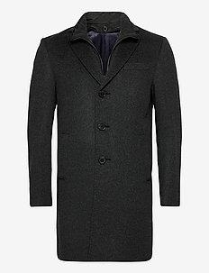 Cashmere Coat - Sultan Tech - ullfrakker - charcoal