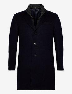 Cashmere Coat - Sultan Tech - ullrockar - medium blue