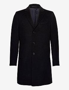 Cashmere Coat - Sultan Relax - ullfrakker - black