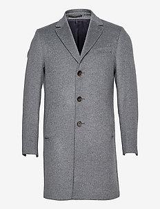 Cashmere Coat - Sultan Relax - wollen mantels - medium grey