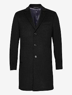 Cashmere Coat - Sultan New - wool coats - black