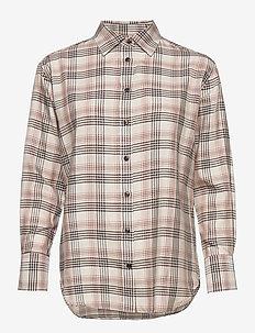 3413 - Nube - långärmade skjortor - off white