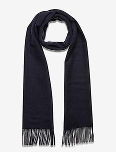 Scarf MW - S074 - 200 cm x 37 cm - sjaals - dark blue/navy