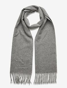 Scarf MW - S074 - 200 cm x 37 cm - sjaals - medium grey
