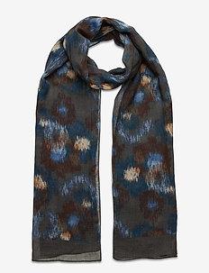 Scarf MW - S280 68 x180 cm - sjaals - medium blue