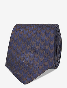 Ties 7 cm - T366 - slips - dark brown