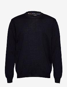 Merino Embroidery - Iq - podstawowa odzież z dzianiny - dark blue/navy