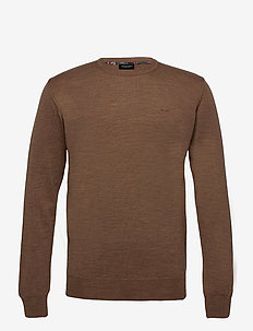 Merino Embroidery - Iq - basisstrikkeplagg - light brown